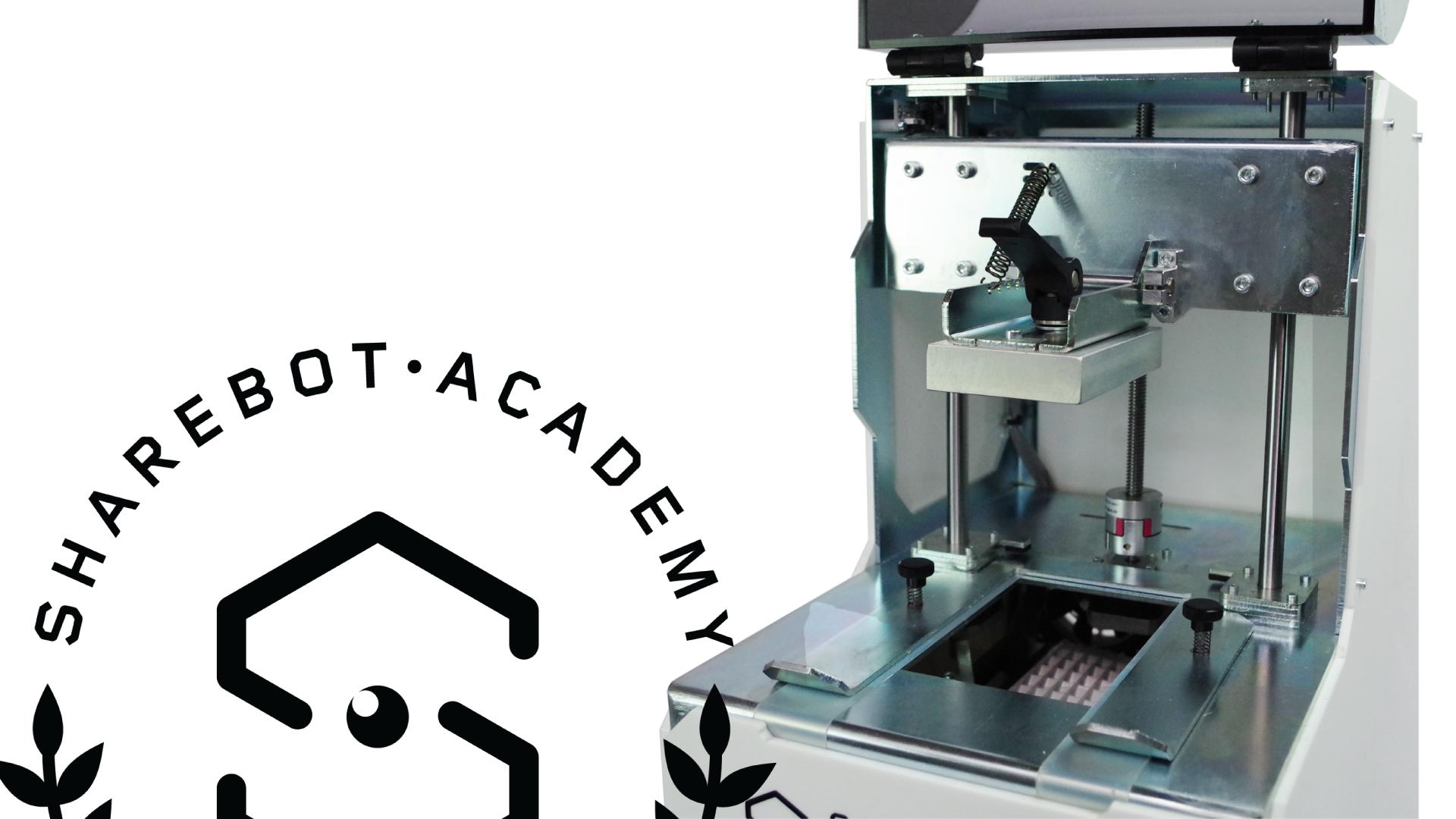 Slider Home Sharebot Monza Academy Corsi stampa 3D