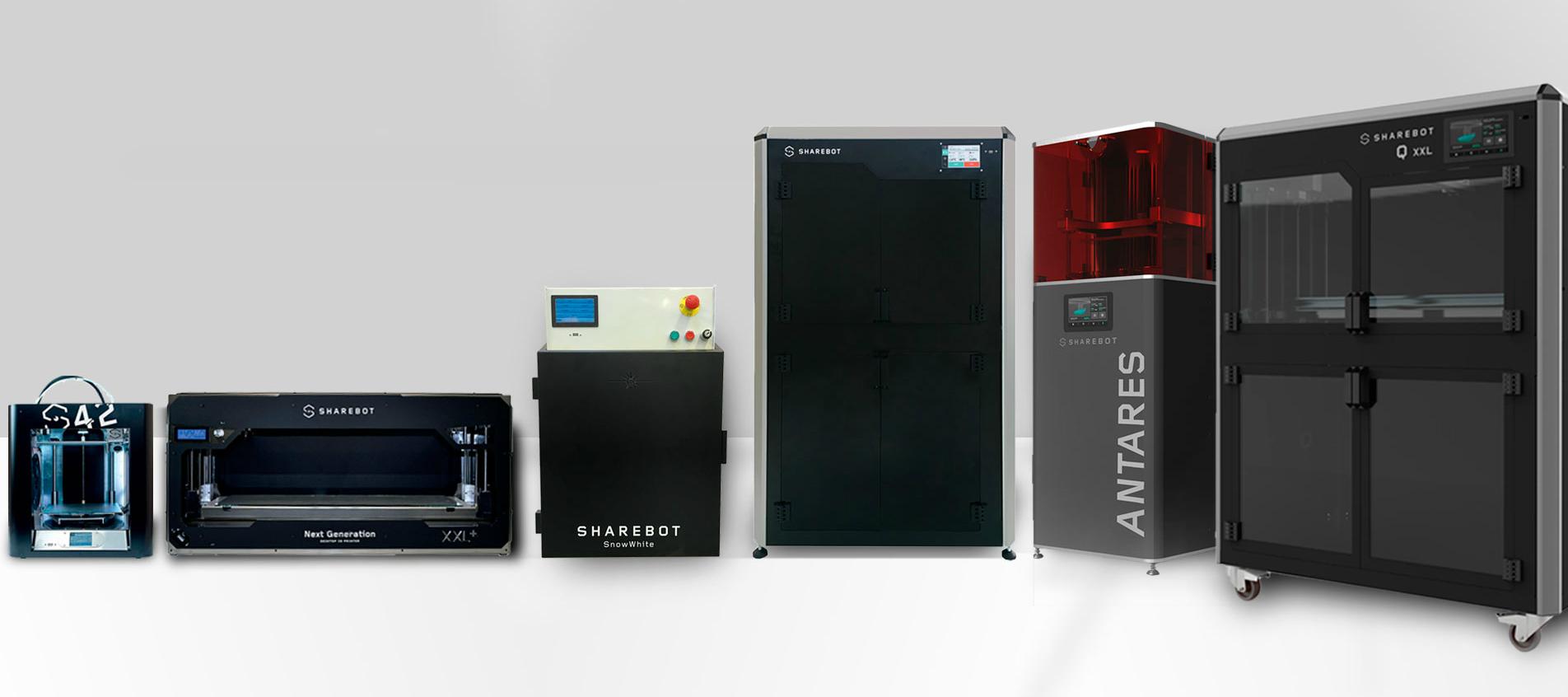 Home Sharebot Monza stampanti 3D Sharebot professionali