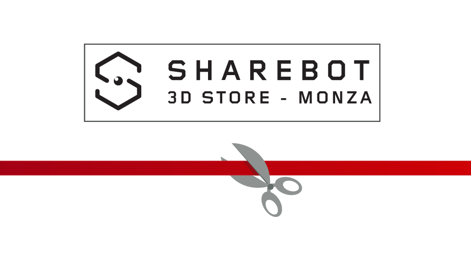 Sharebot 3D Store Monza negozio di stampa 3D Sharebot Monza