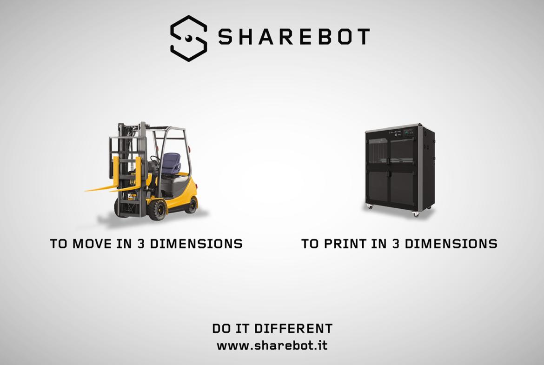 Promozione Mecspe 2018 stampanti 3D Sharebot Monza
