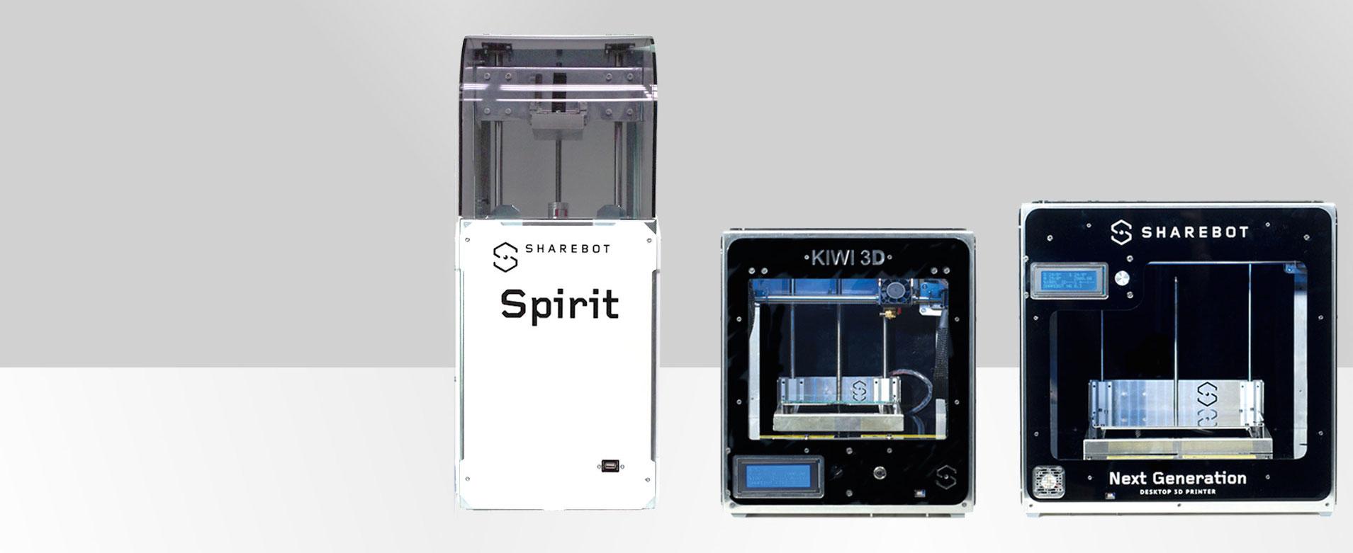 Stampanti 3D desktop Sharebot Monza