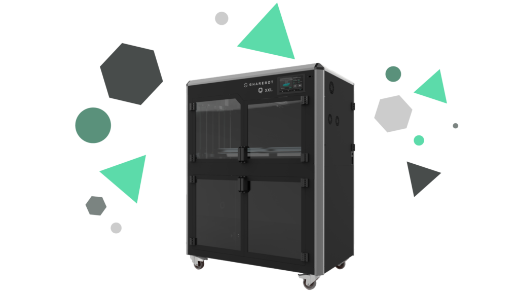 Stampanti 3D professionali Sharebot Monza Sharebot QXXL