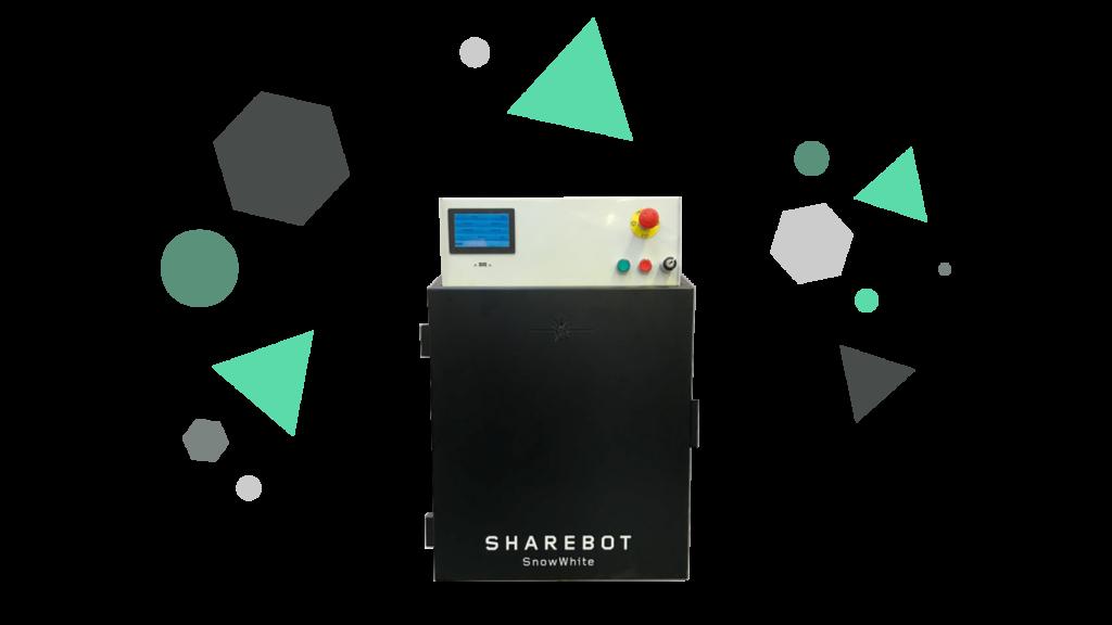 Stampanti 3D professionali Sharebot Monza Sharebot SnowWhite