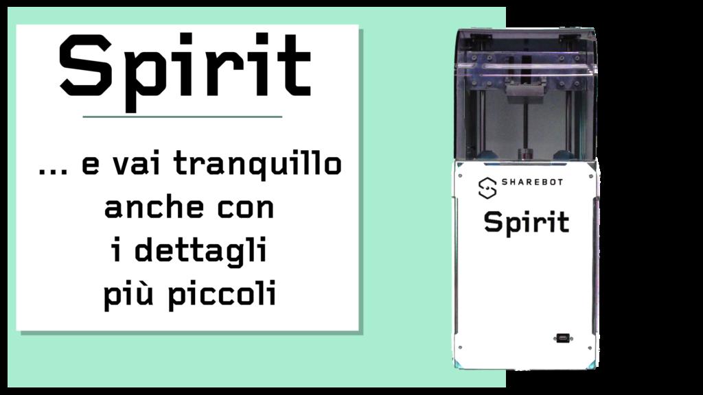 Prodotti Sharebot Monza stampante 3d Sharebot Spirit