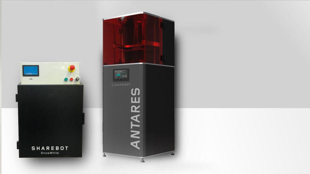 Promozione stampanti 3D professionali Sharebot Snowwhite Antares Sharebot Monza stampa 3D