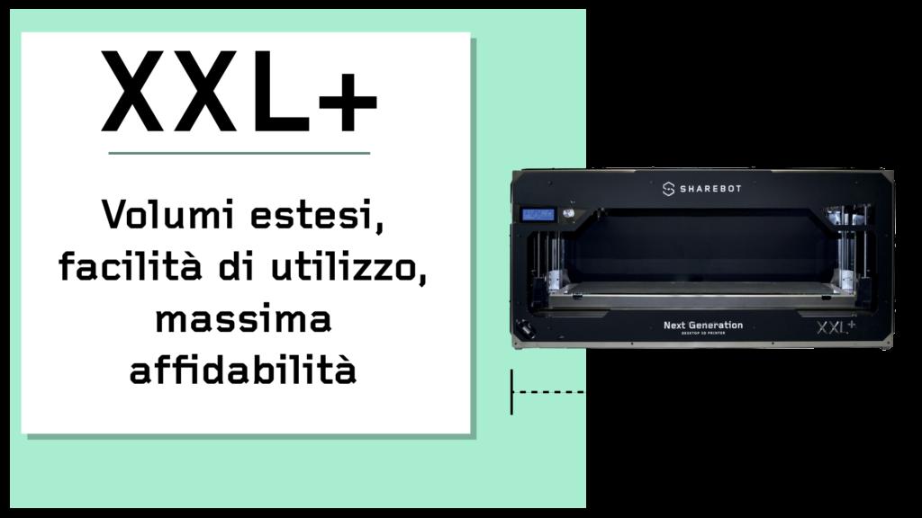 Prodotti Sharebot Monza stampante 3d Sharebot XXL