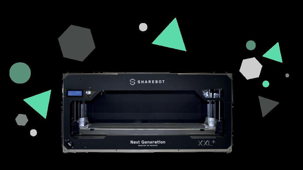 Stampanti 3D professionali Sharebot Monza Sharebot XXL Plus